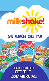 Gigglebies as seen on TV Milkshake TV advert for Computer Games for Learning